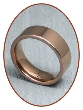 Tungsten Carbide Text Gedenk Ring - XR02