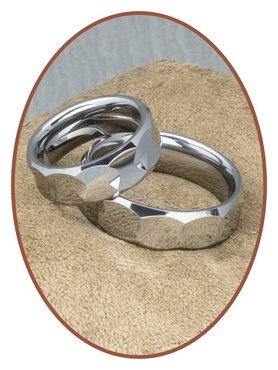 Forever Love Collection Tungsten Carbide Beziehungsringe - TC567