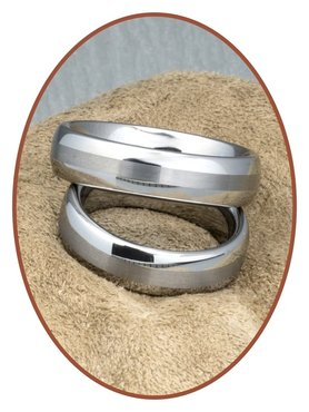 Forever Love Collection Tungsten Carbide Beziehungsringe - KR8056