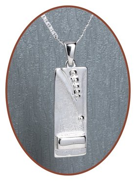 Close2Me© 925 Sterling Silber 'Forever With Me' Asche Anhänger - CM009