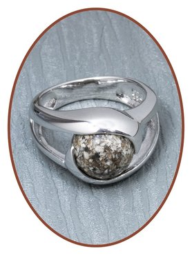 Close2Me© 'Close To Me' 925 Sterling Silber Asche Ring - CM016R