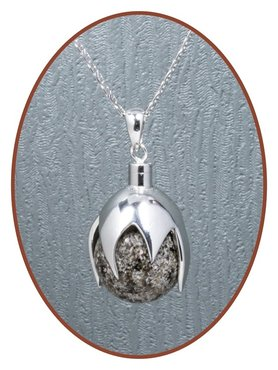 Close2Me© 925 Sterling Silber Asche Anhänger 'Protected' - CM017