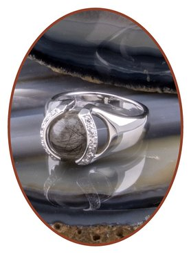 Close2Me© 'Always With Me' 925 Sterling Silber Haare Ring  - CM015H