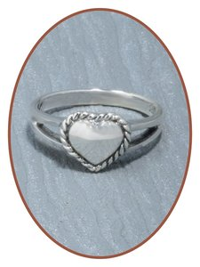 Sterling Zilveren Dames / Meisjes As Ring - RB012